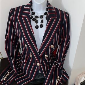 Tommy Hilfiger tailored Elegant striped blazer 12